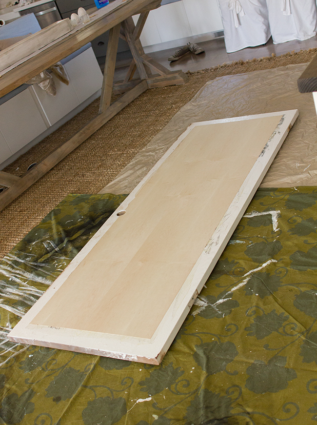 Create A 5 Panel Wood Door From A Hollow Core Door By Jenna Sue Design Co