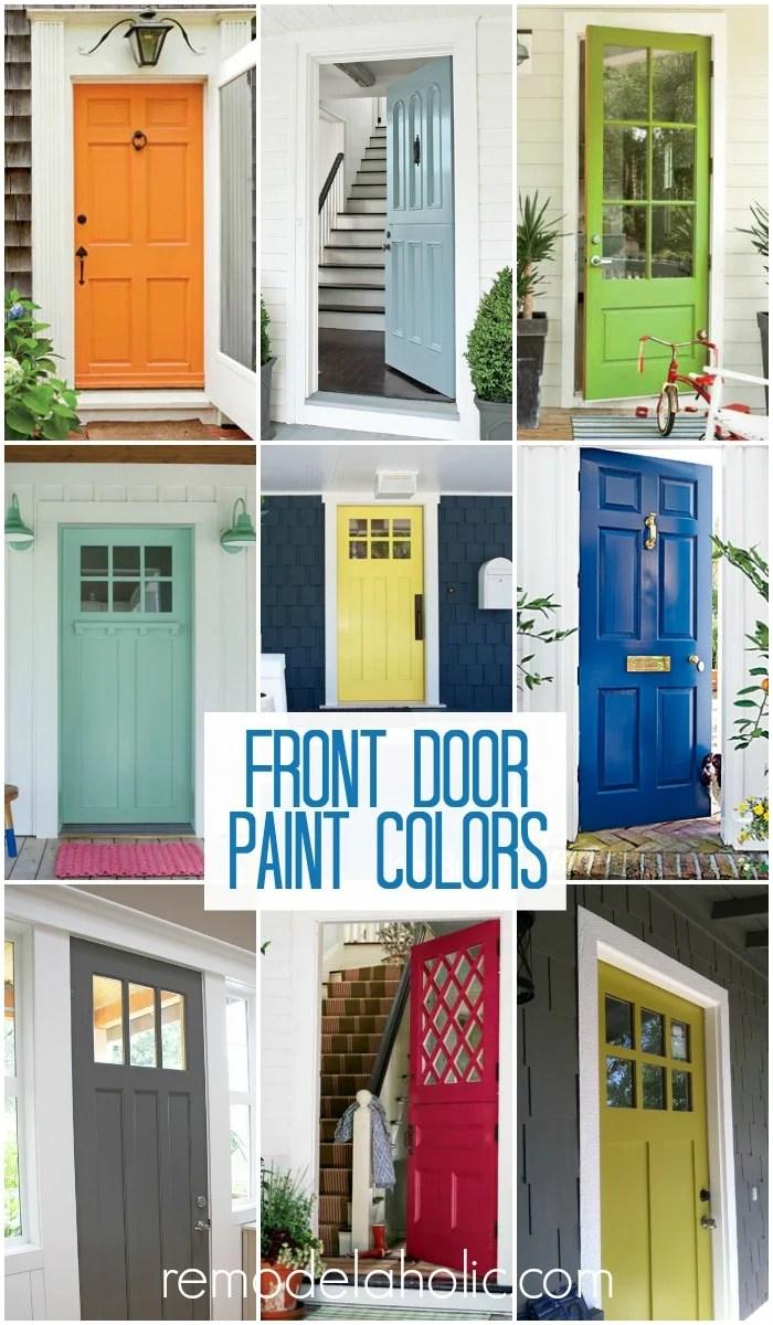 Front Door Paint Colors @Remodelaholic  sc 1 st  Remodelaholic & Remodelaholic   50 Beautiful Doors + Front Door Paint Colors