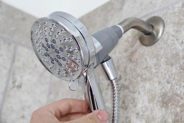 HOw to install a new showerhead Moen Magnetix-3601