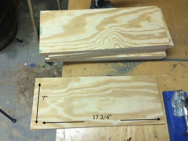 How to build a back-of-door shelf 1 - Wilkerdos on Remodelaholic