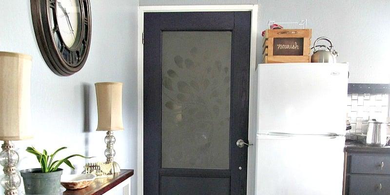 Elegant Half Lite Entry Door