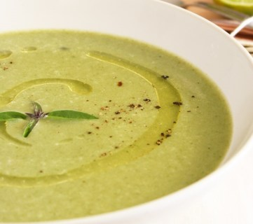 Spring Sweet Pea Soup