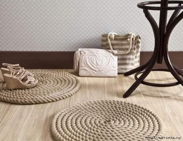round rope rug