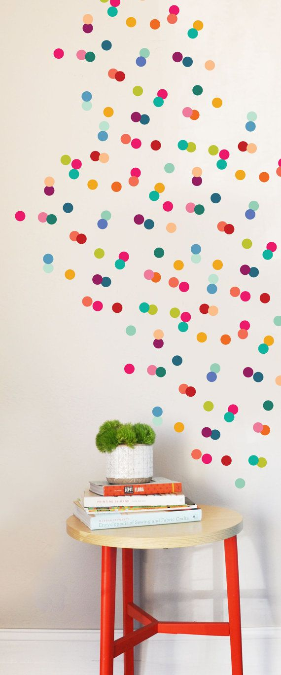 Rainbow Playroom Inspiration | Found on etsy.com