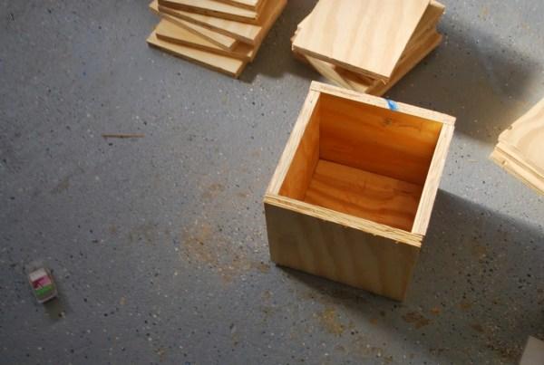 DIY Building Block Playtable by ToolBox Divas for Remodelaholic