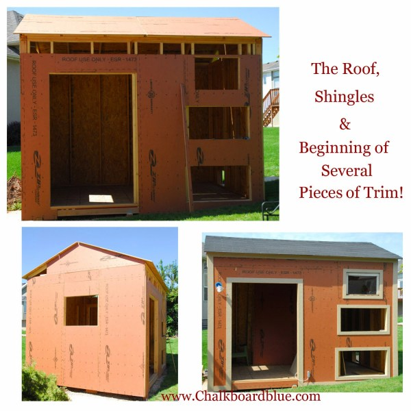 DIY Chicken Coop and Storage Shed by Chalkboardblue featured on Remodelaholic