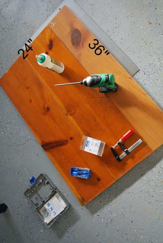 Tabletop for DIY Playtable  by ToolBox Divas for Remodelaholic