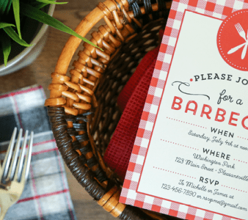 Free Printable Barbecue Invitation
