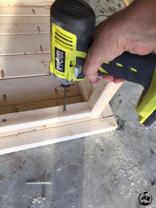 DIY Simple Square Side Table Plans - Step 11