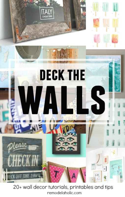 DIY Wall Decor Ideas: 50 Affordable DIY Ways to Decorate an Empty Wall