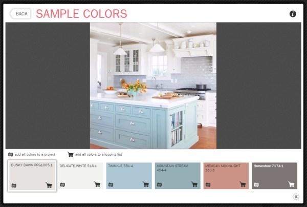 PPG paint color sampler .bmp