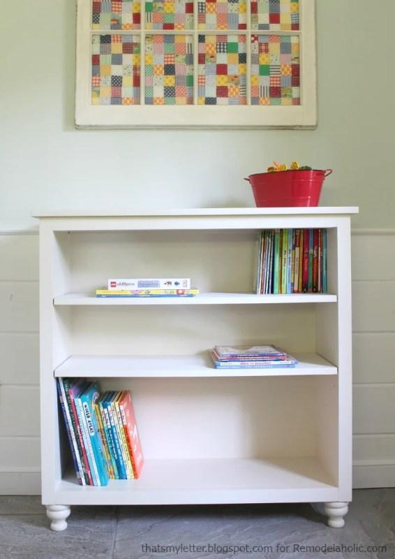 easy bookshelf with adjustable shelves, great detailed tutorial!