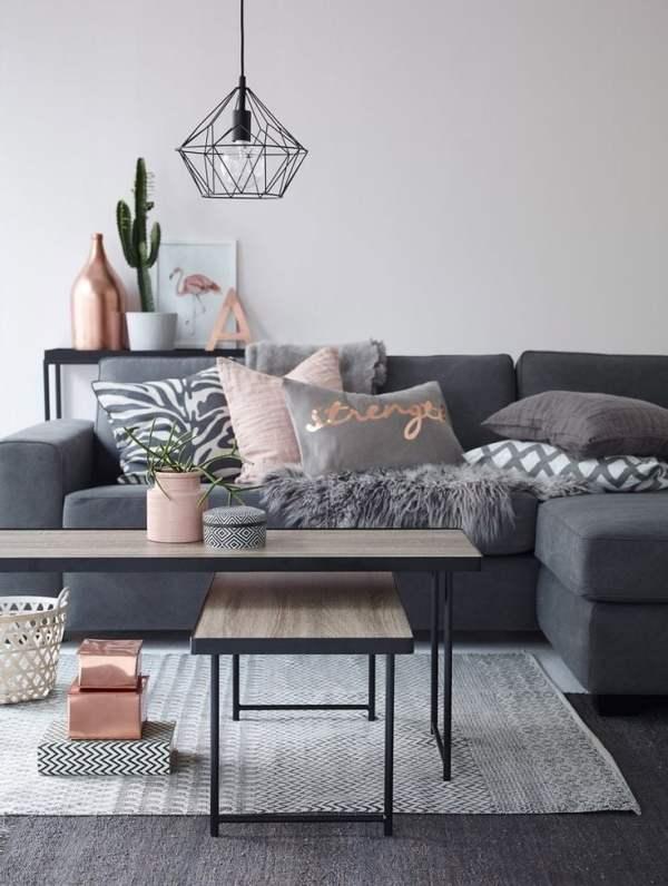 copper living room