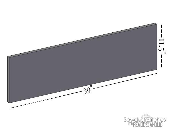 DIY Coat rack 1 sawdust2stitches for Remodelaholic.com