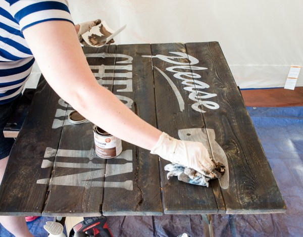 DIY Vintage Hotel Guest Room Sign by A Prudent Life for Remodelaholic