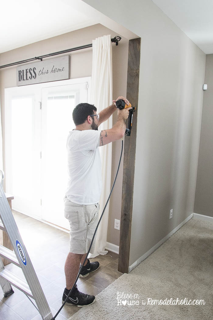 DIY Wood Beam Doorway (7 of 23)