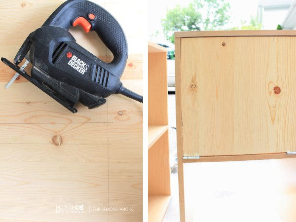 How to make an oven for play kitchen