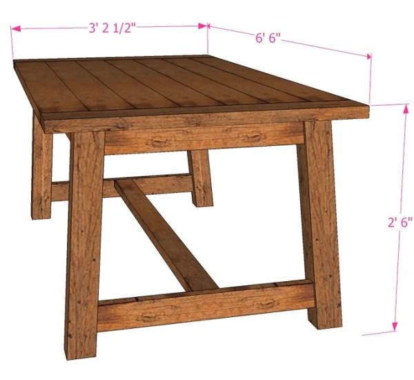 Tutorial: Build a Farmhouse Dining Table