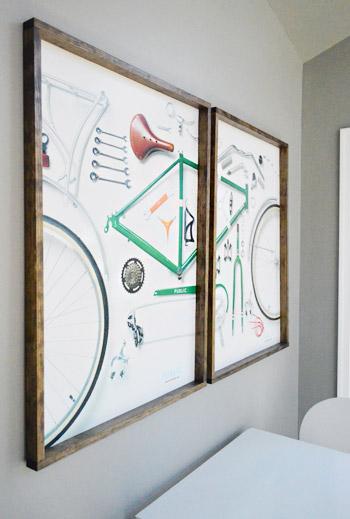 Remodelaholic   60 Budget-Friendly DIY Large Wall Decor Ideas