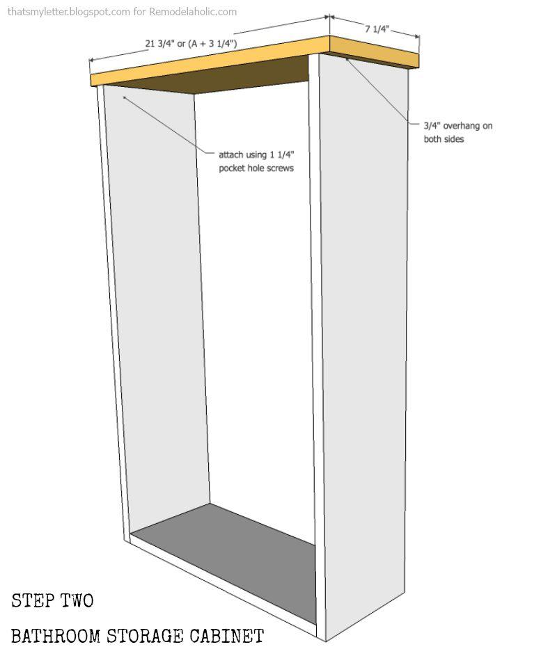 window cabinet step 2