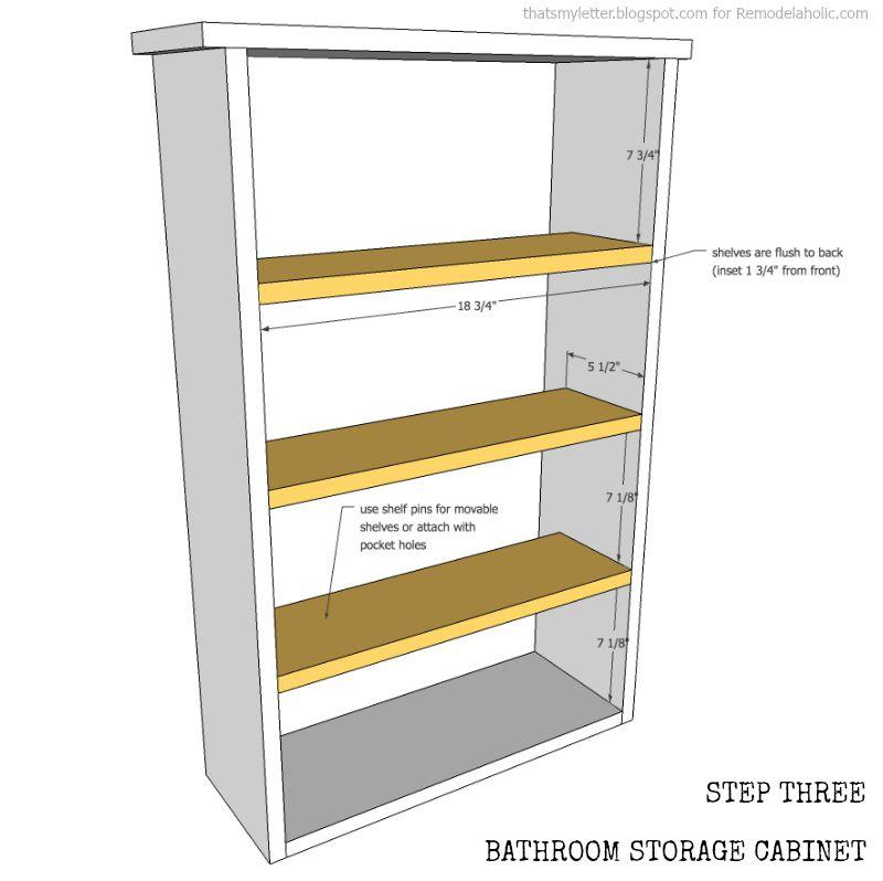 window cabinet step 3