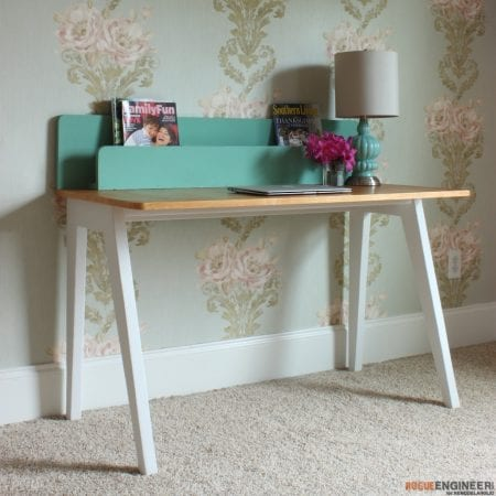 DIY Modern Lindsay Desk - Rogue Engineer