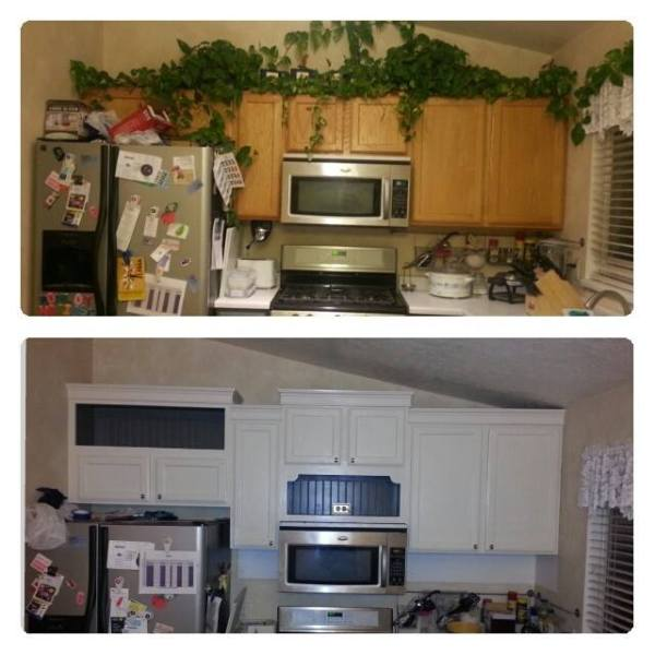 Holly DIY painted kitchen cabinets update and review 2