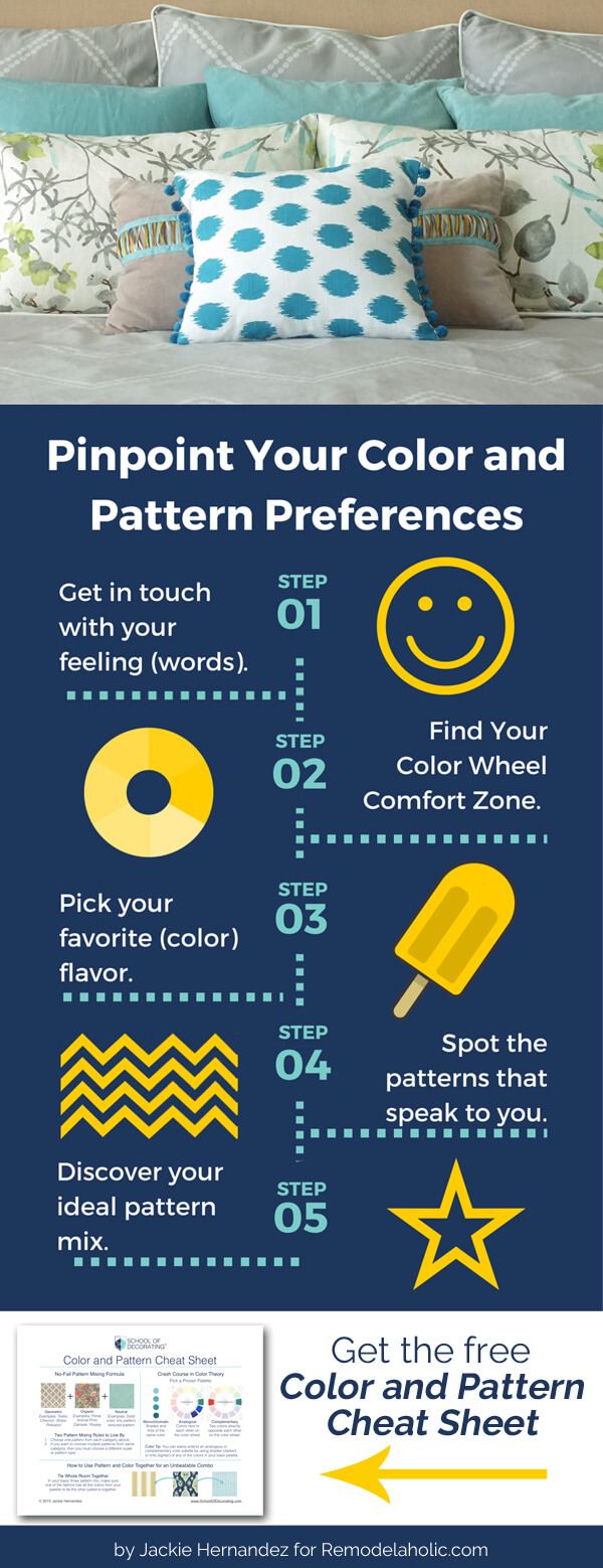 How to choose colors and patterns you'll love in your home