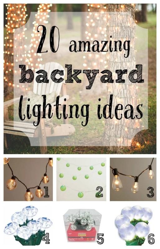 20 amazing backyard lighting ideas