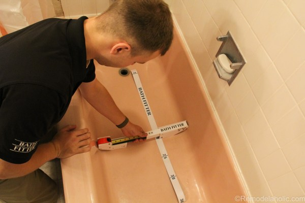 Bathroom shower and tub refresh by Bath Fitters @remodelaholic (21 of 24)