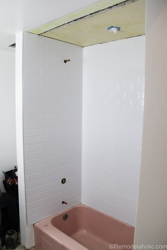 Bathroom shower tub refresh by Bath Fitters @remodelaholic (38 of 47)