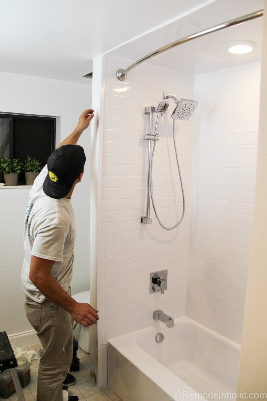 Bathroom shower tub refresh by Bath Fitters @remodelaholic (42 of 47)