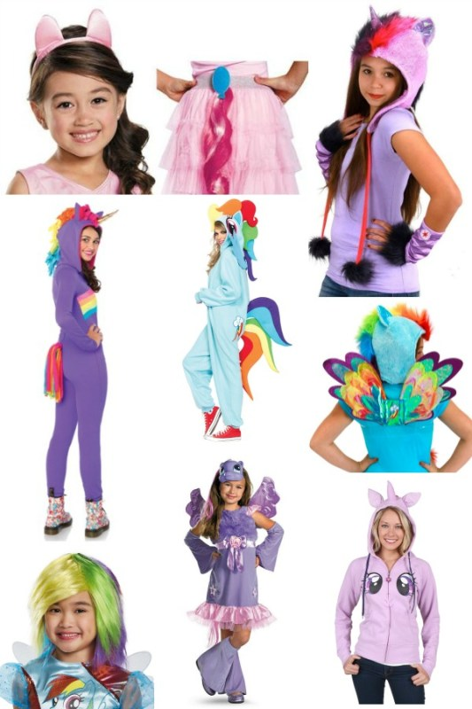 Cute and Easy My Little Pony Costumes @Remodelaholic