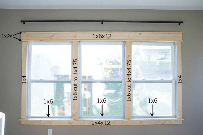 Remodelaholic Diy Easy Craftsman Window Trim