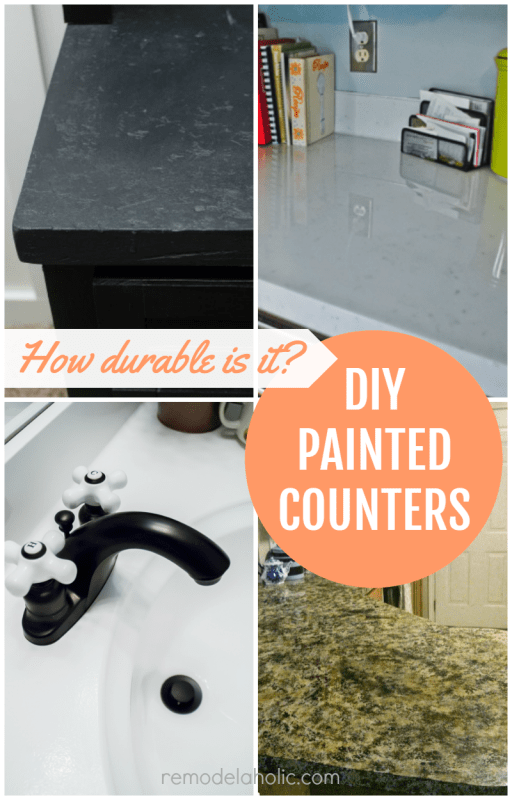 Painting your countertops is a budget-friendly way to give your kitchen or bath a whole new look -- but how does it hold up in terms of durability? Read these DIY painted countertop reviews to see if it's the right project for your and your home.