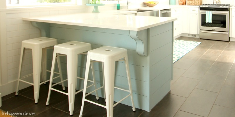 Merveilleux Update A Plain Kitchen Island Or Peninsula With Planks And Corbels