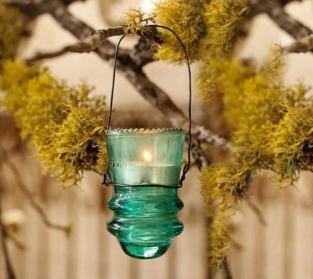 DIY gardent lantern