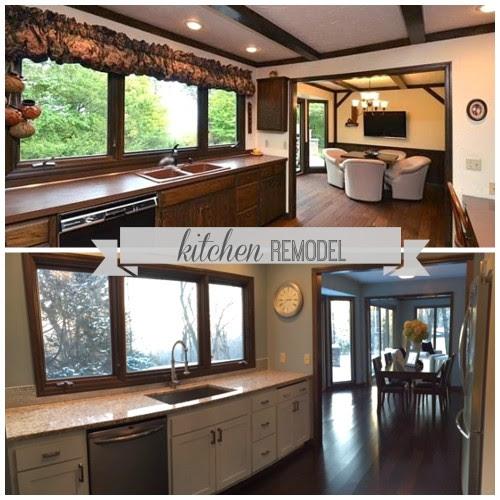 Kitchen Renovation And DIY Range Hood Tutorial