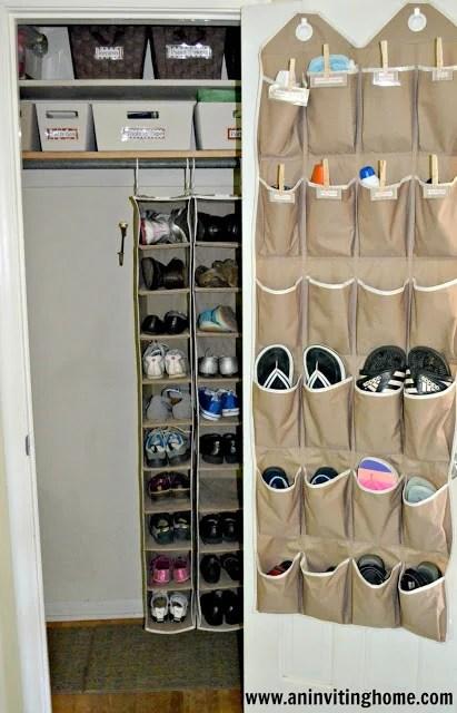 coat closet mudroom An Inviting Home
