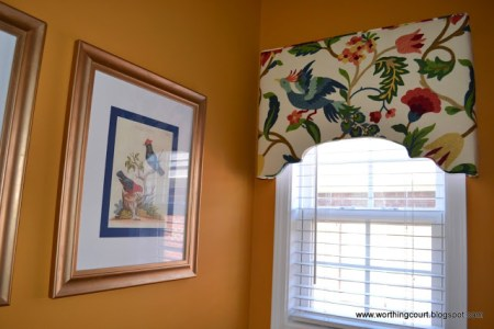 curved upholstered cornice diy white curtains