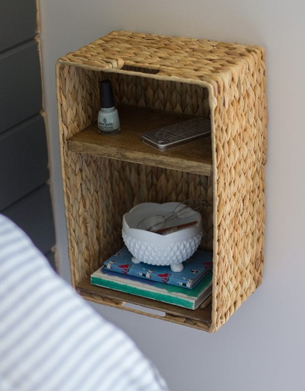 diy charging station basket by jenna sue design on remodelaholic