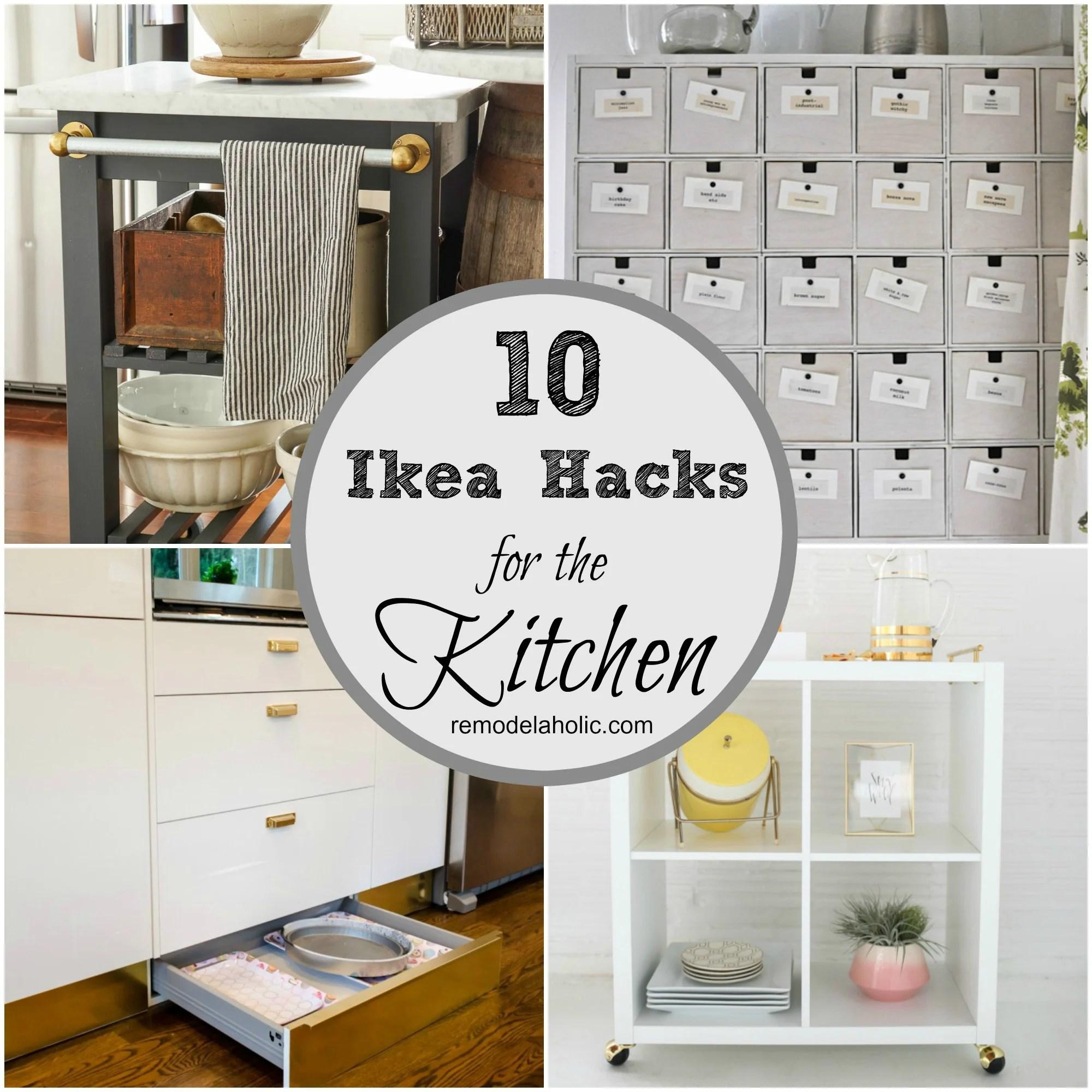 ingenious ikea hacks for the kitchen