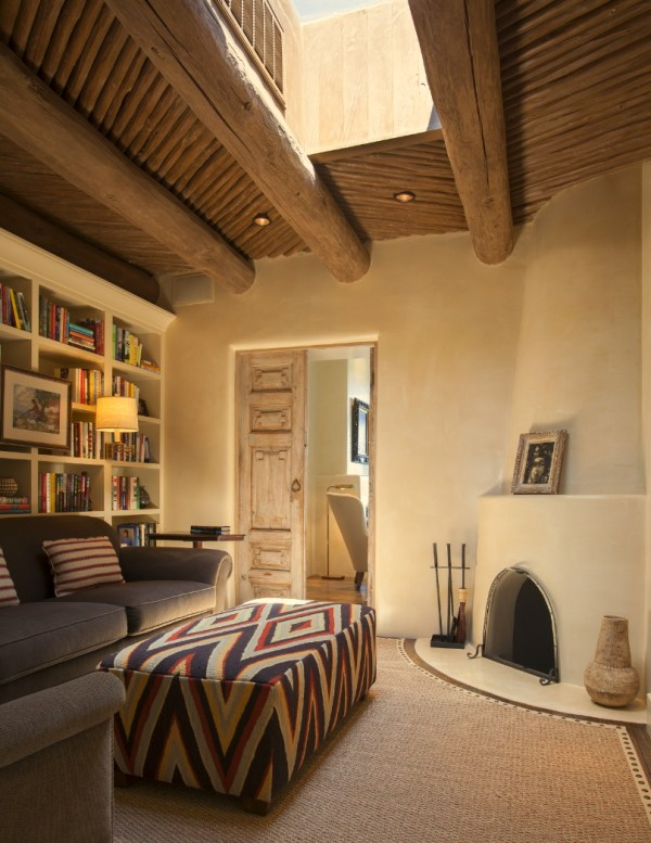 Love the doors and ceiling! modernized southwest office by Violante & Rochford Interiors, photo credit © Wendy McEahern