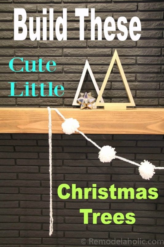 Christmas Decor Triangle Tree-pinterest
