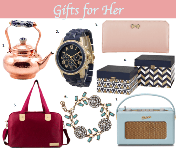Beautiful gifts any woman would love
