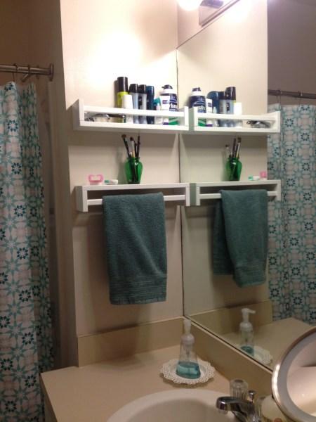 bekvam spice rack hand towel
