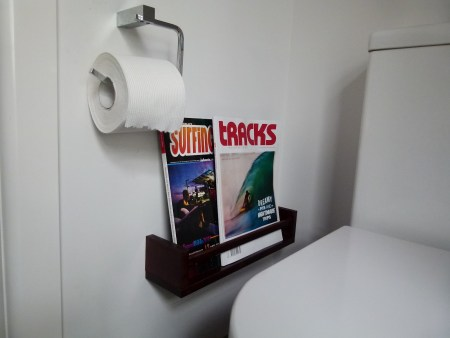 bekvam spice rack magazine holder bathroom