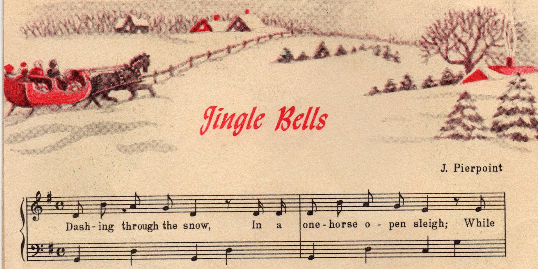 photo about Free Printable Vintage Christmas Sheet Music referred to as Remodelaholic 25+ Absolutely free Basic Xmas Card Pictures; Working day 12