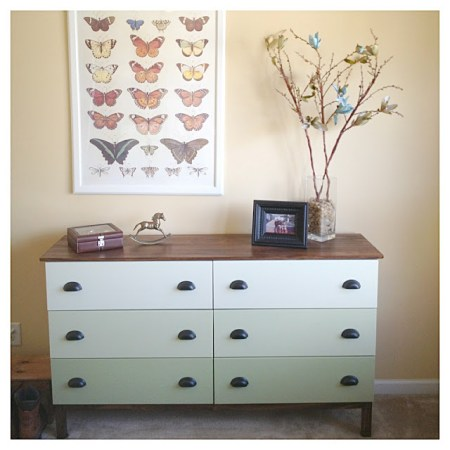 tarva 6-drawer chest hack ombre green drawers