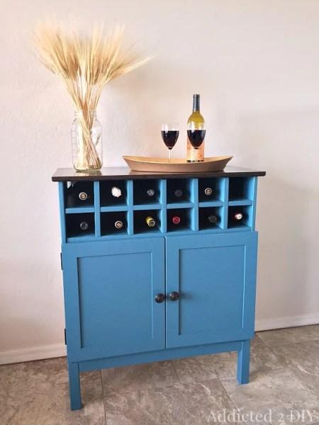 tarva three-drawer chest hack bar cabinet wine storage